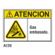 Cartel gas embasado