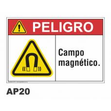 Cartel campo magnético