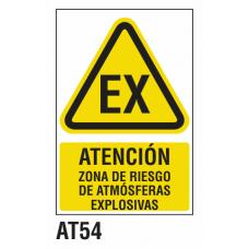Cartel atmósferas explosivas