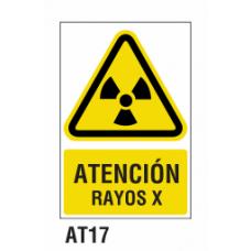 Cartel rayos X