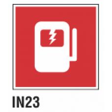 Cartel corte de suministro de electricidad