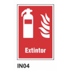 Cartel extintor