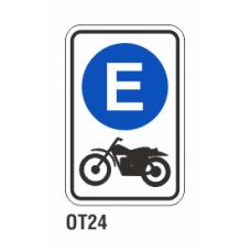 Cartel exclusivo motocicletas