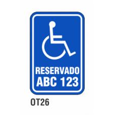 Cartel reservado abc 123