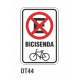 Cartel bicisenda