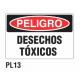 Cartel desechos tóxicos