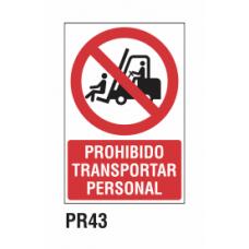 Cartel prohibido conectar gente trabajando