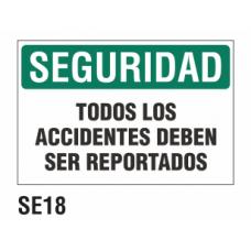 Cartel todos los accidentes