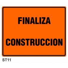 Cartel finaliza construcción