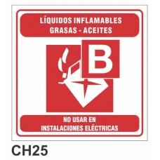 Etiqueta chapa baliza B