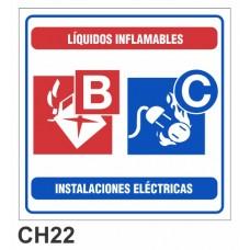 Etiqueta chapa baliza BC