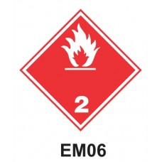Rótulo de riesgo clase 2.2