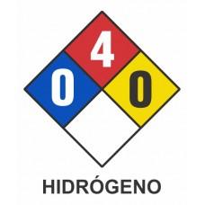 Cartel NFPA hidrógeno