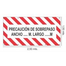 Cartel Vehiculo Largo